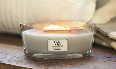 Colección velas Ellipse WoodWick