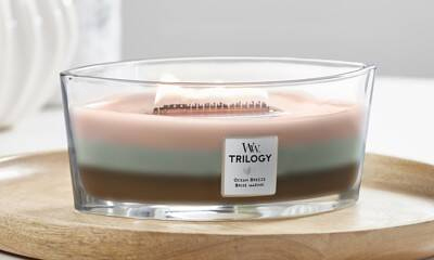Velas Trilogy WoodWick
